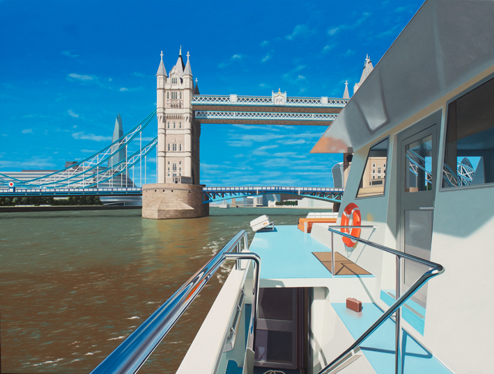 A boat trip along the River Thames